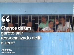 degase, educandário santo expedito, jaime gold (Foto: Tribunal de Justiça/Divulgação)
