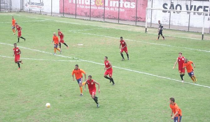 São Vicente jogo-treino (Foto: Rafael Moreira / São Vicente AC)