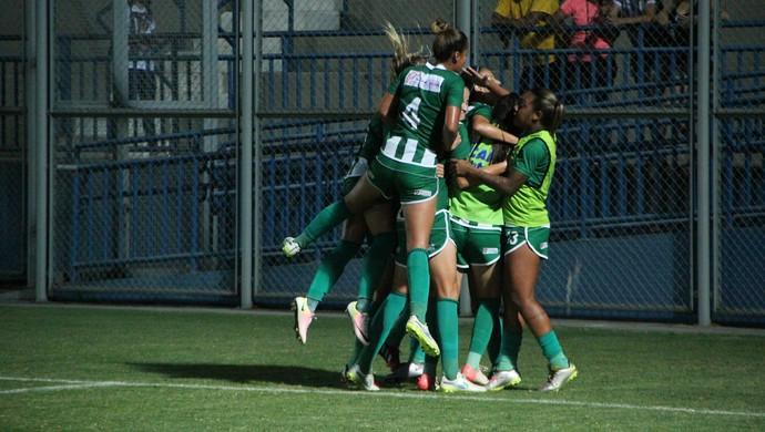 Iranduba e São Raimundo-RR Copa do Brasil de Futebol Feminino (Foto: Marcos Dantas)