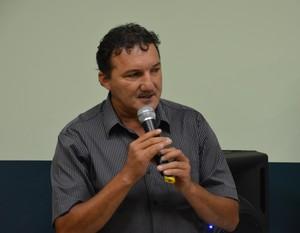 Presidente e técnico do Náuas, Zacarias Lopes (Foto: Duaine Rodrigues)