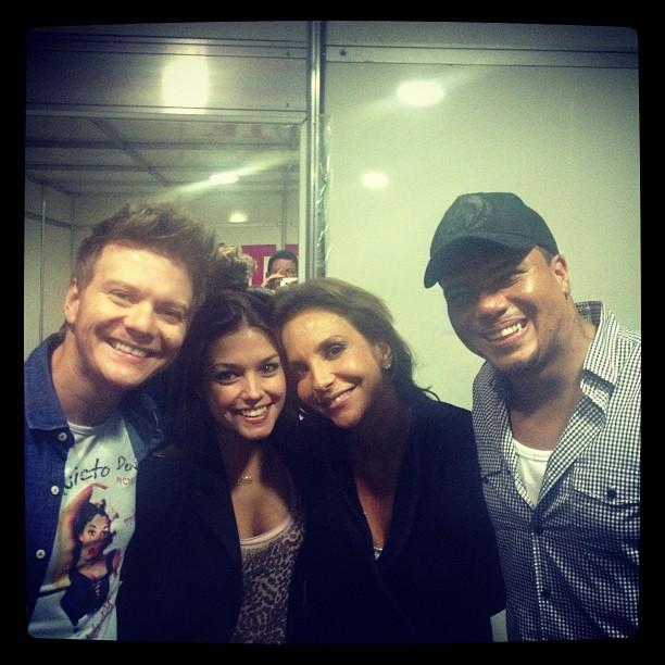 Michel Teló, Thais Fersoza, Ivete Sangalo e Bruno (Foto: Reprodução/ Instagram)