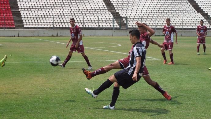 Hélio Júnior, atleta rondoniense atua como lateral esquero no Atlético Mineiro (Foto: Hélio Júnior/ arquivo pessoal )
