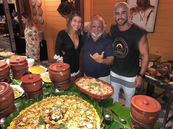 Gabriela Pugliesi, Zé Maria e Erasmo Viana (Foto: Reprodução/Instagram)