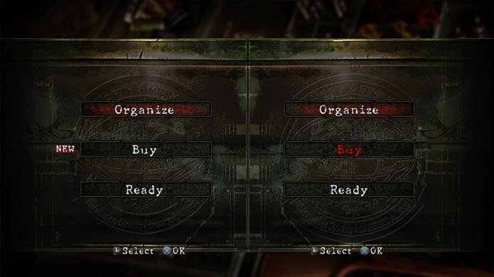 Resident Evil 5 tem sistema semelhante ao de jogos de luta para se jogar de dois (Foto: Reprodução/Felipe Demartini)