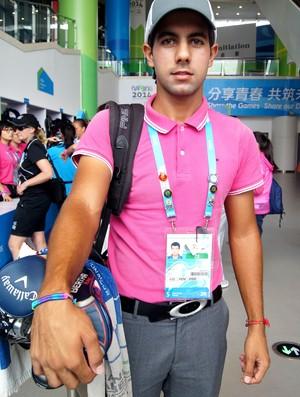 golfe Feroz Garewal nanquim jogos olimpicos da juventude (Foto: Thierry Gozzer)