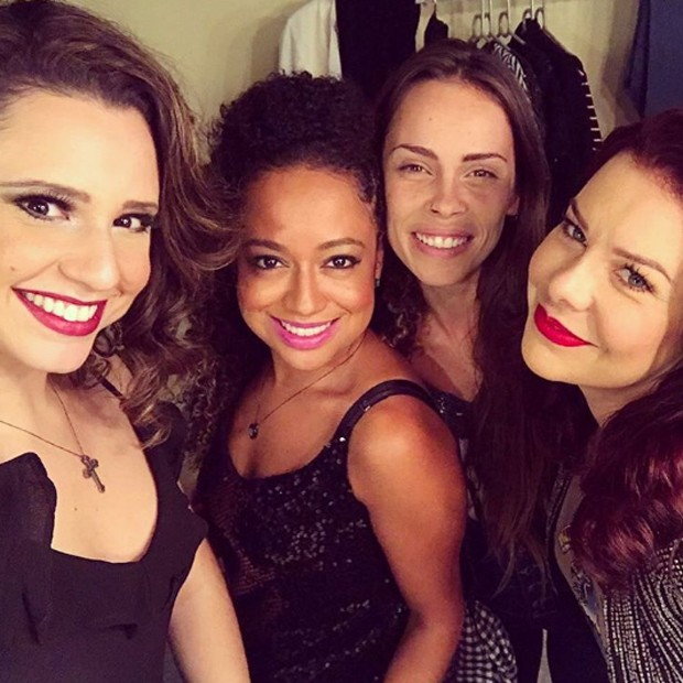 Francis Helena Cozta, Aretha Oliveira, Gisele Frade e Fernanda Souza (Foto: Reprodução/Instagram)