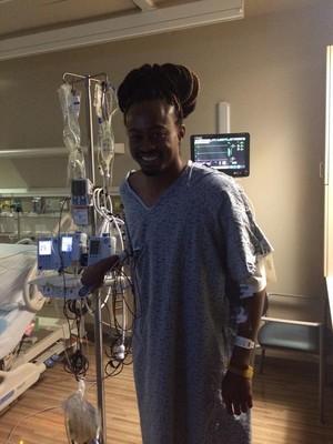 Aries Merritt hospital cirurgia rim  (Foto: Reprodução / Twitter)