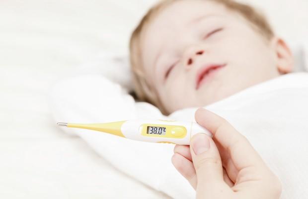 criança; bebe; doente; gripe; febre (Foto: Thinkstock)