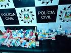 Donos de farmácia são presos com lote de remédios roubados no RS