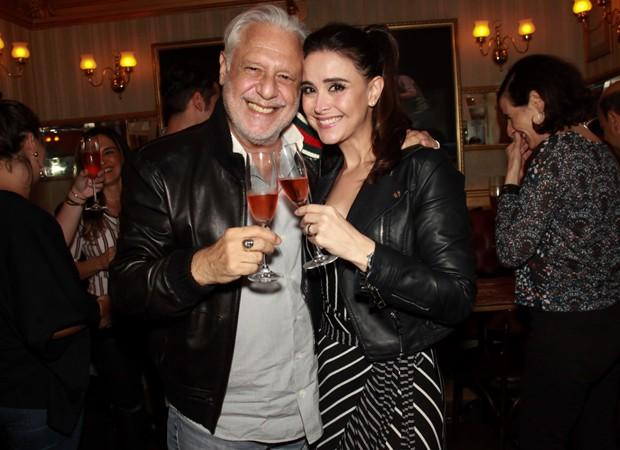 Antônio Fagundes e a namorada, Alexandra Martins (Foto: Marcos Ribas/Brazil News)