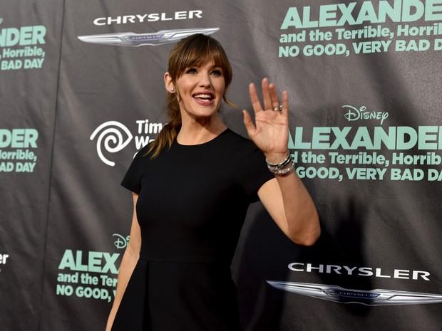 Jennifer Garner em première em Los Angeles, nos Estados Unidos (Foto: Kevin Winter/ Getty Images/ AFP)