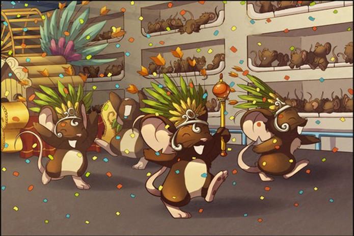 Seja o rato mais rápido em Transformice (Foto: Divulgação)