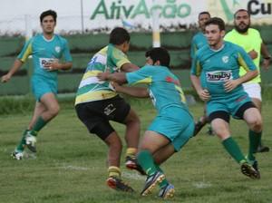 Primavera venceu o último confronto entre as duas equipes. (Foto: Michel Leplus/Cuiabá Rugby)