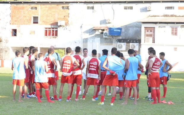 Rio Branco pronto para a estreia no Estadual Sub-19 (Foto: Wescley Camelo)