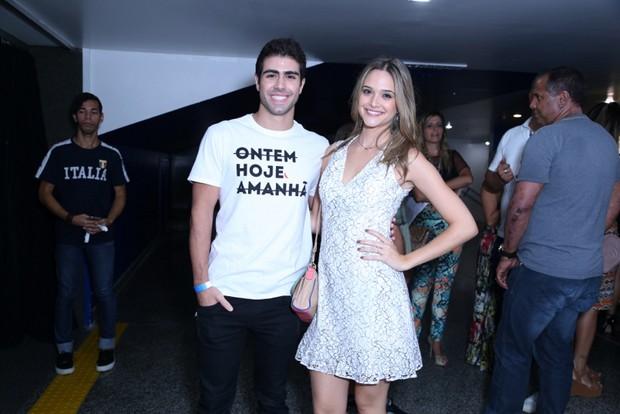 Juliano Lahan e Juliana Paiva (Foto: Anderson Borde / AgNews)