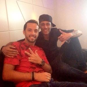 Nenê e Neymar se enfrentarão em jogo beneficente (Foto: Divulgação / Arquivo Pessoal)