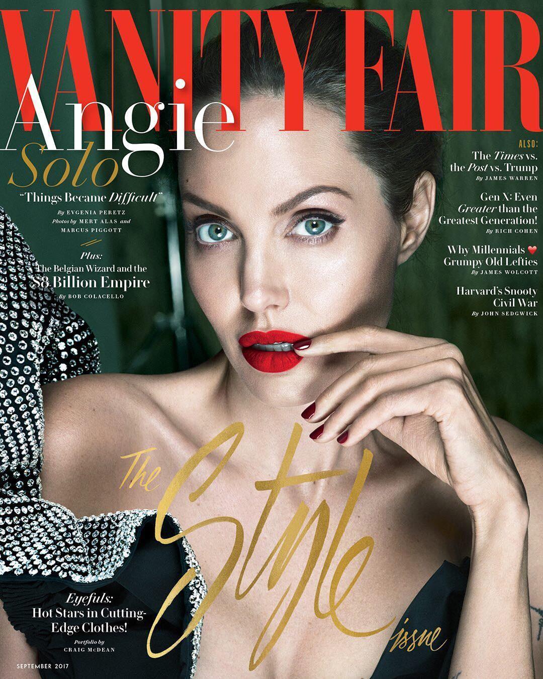 Angelina Jolie (Foto: Reprodução/ Instagram)