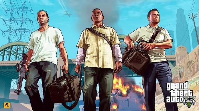 GTA V tem vários modos de ganhar dinheiro (Foto: Divulgação/Rockstar)