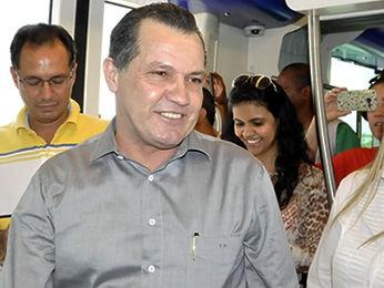 Silval Barbosa falou sobre transição de governo nesta 3ª (Foto: Pollyana Araújo/ G1)