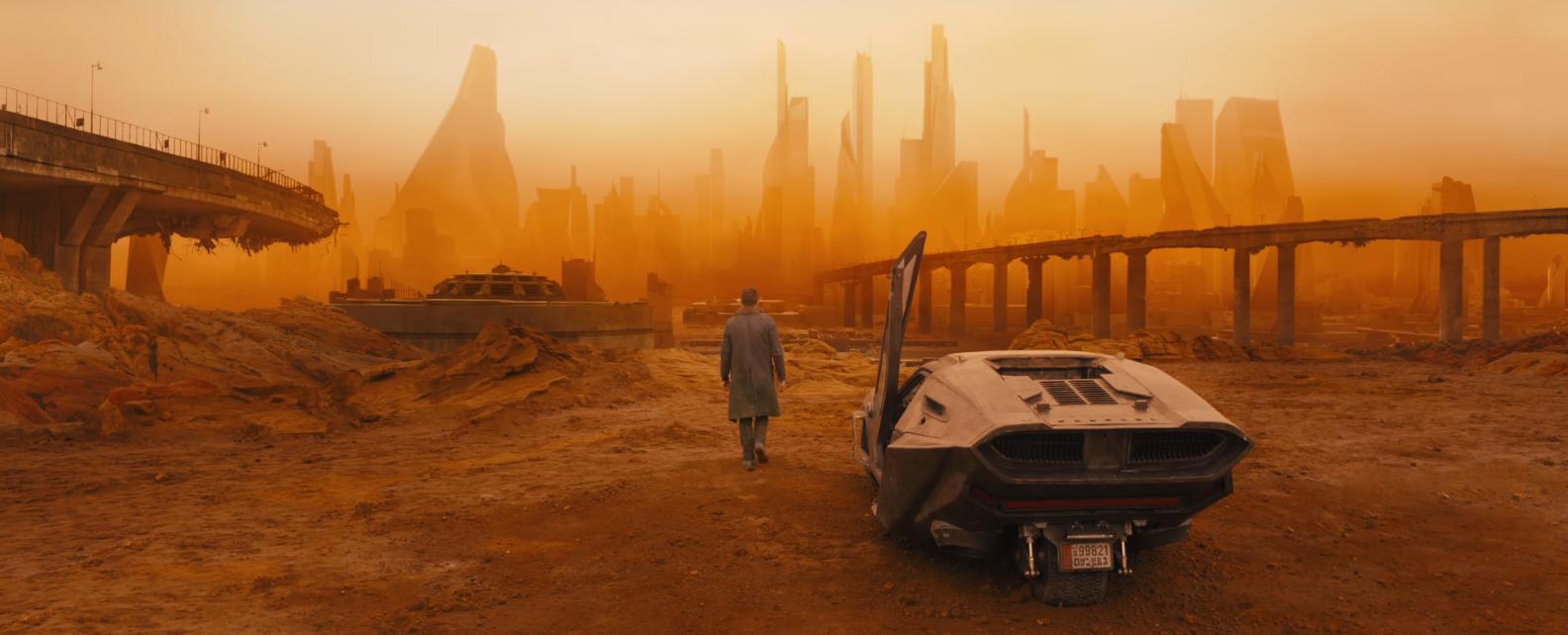 Cena de trailer de Blade Runner 2049 (Foto: Reprodução/Youtube)