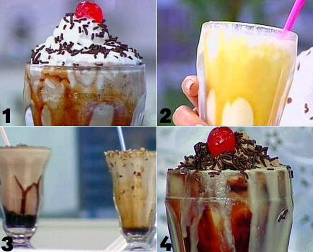 Milk Shakes para o verão (Foto: Mais Você/TV Globo)
