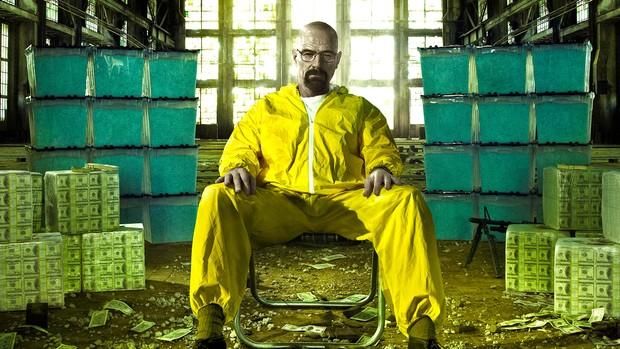Walter White - professor de Química em Breaking Bad (Foto: Divulgação)