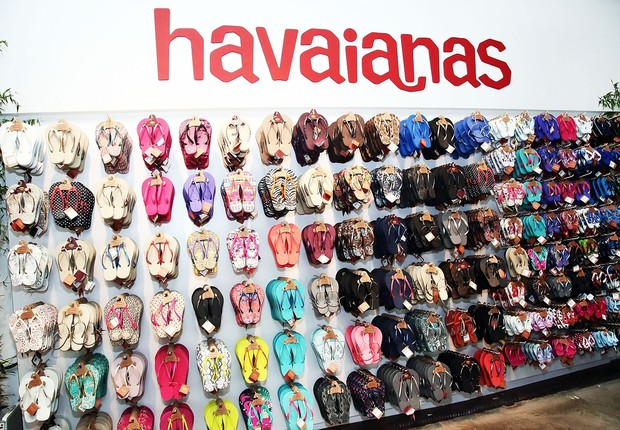 Havaianas; Alpargatas (Foto: Astrid Stawiarz/ Getty Images)