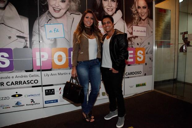 Andressa Ferreira e Thammy Miranda (Foto: Marcos Ribas/Photo Rio News)