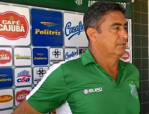 Paulo Cezar Catanoce Uberlândia técnico UEC (Foto: Lucas Papel)