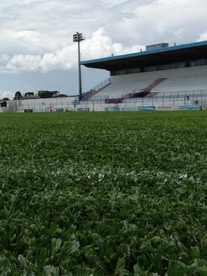 Estádio Vidal Ramos Júnior Tio Vida (Foto: Diego Madruga)
