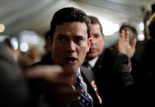 O juiz federal Sérgio Moro em evento em Brasilia (Foto: Ueslei Marcelino/Reuters)