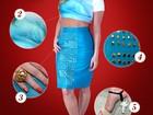 Claudia Leitte usa look azul para combinar com show de abertura. Copie!