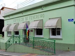 Fachada prefeitura de Salesópolis (Foto: Anderson Nepomuceno/ Prefeitura de Salesópolis)