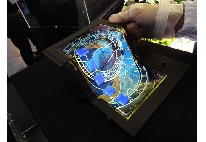 Display foi mostrado em feira de tecnologia (Foto: Divulgação)