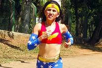 Eliete supera câncer e se inspira na heroína (Eu Atleta | Arte | fotos: arquivo pessoal)
