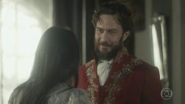 Thomas pede que Anna não vá ao palácio