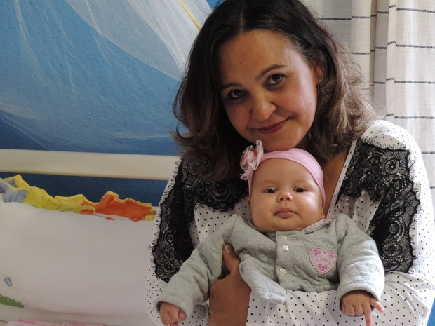 Mulher supera mioma e celebra 2º filho após 21 anos   Rejuvenescida  91f1737cc4a