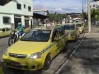 Taxistas de Juiz de Fora protestam pela renovação das permissões