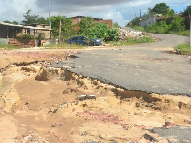 Segundo prefeitura, zona rural de Ribamar tem sido a mais prejudicada com temporais (Foto: Divulgação/Ascom)