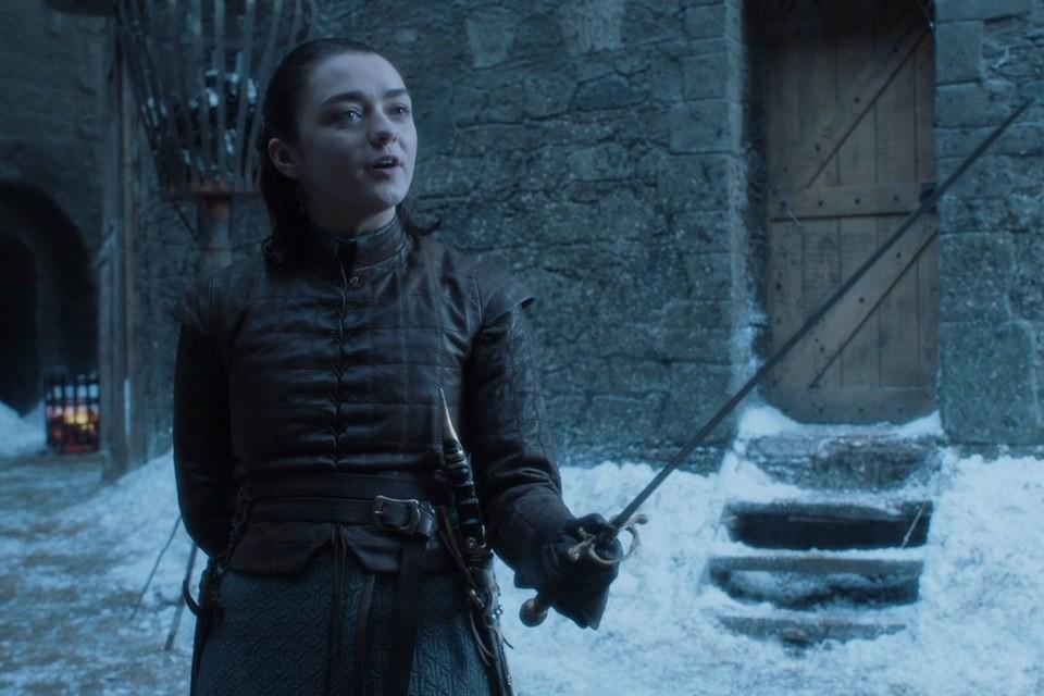 Cena do 4º episódio da 7ª temporada de Game of Thrones, The Spoils of War  (Foto: Reprodução/Youtube)