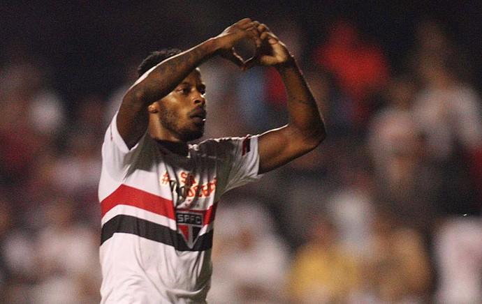 São Paulo x San Lorenzo - Michel Bastos (Foto: Marcos Ribolli)
