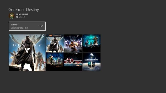 Delete conteúdo adicional do Xbox One (Foto: Reprodução/Murilo Molina)