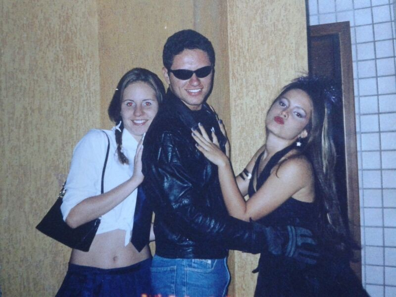 Alessandra, Thiago e Jullie (Foto: Arquivo pessoal)
