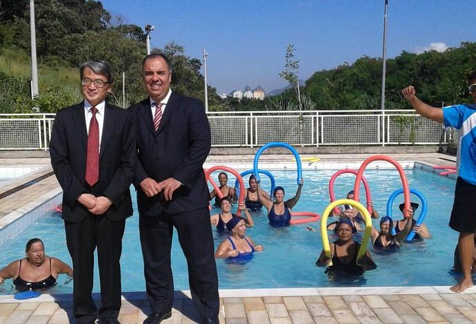 Diplomacia japonesa visita Vila Olímpica do Rio (Foto: Divulgação)