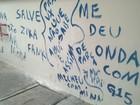 Escola é pichada quatro dias após ser pintada para aulas em Itapetininga