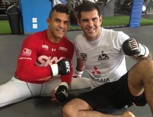 Vitor Belfort e Rodrigo Cavaca (Foto: Divulgação / Zerri Torquato)