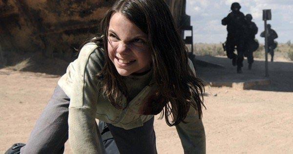 Laura Kinney (X-23) em 'Logan' (2017) (Foto: Divulgação)