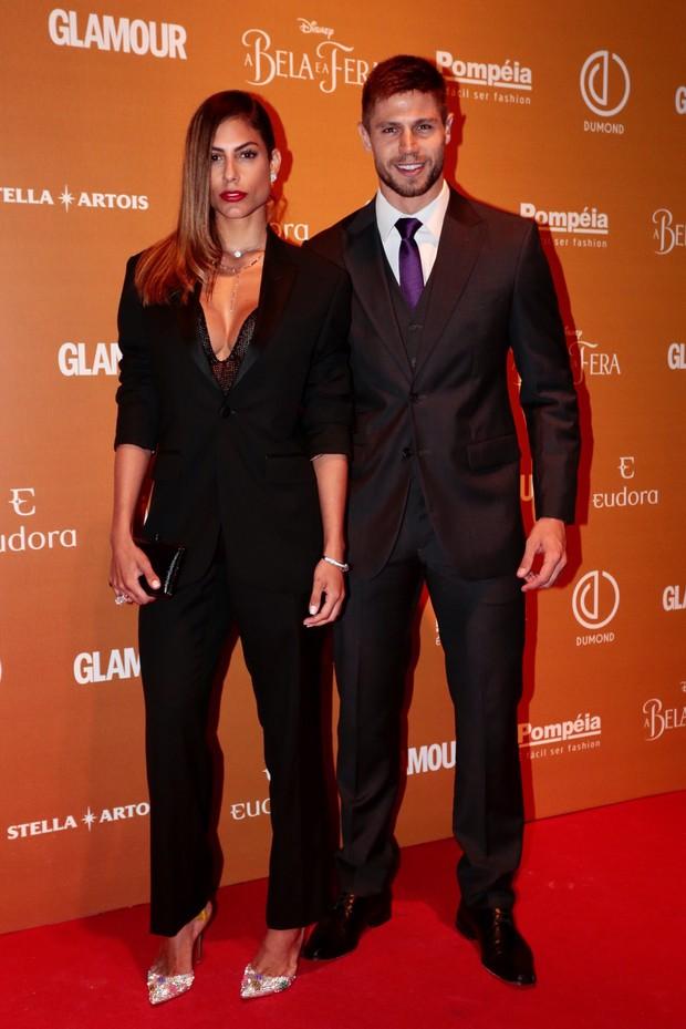 Mari Gonzales e Jonas (Foto: Rafael Cusato/EGO)
