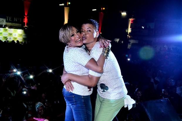 Susana Vieira e David Brazil (Foto: William Oda / AgNews)