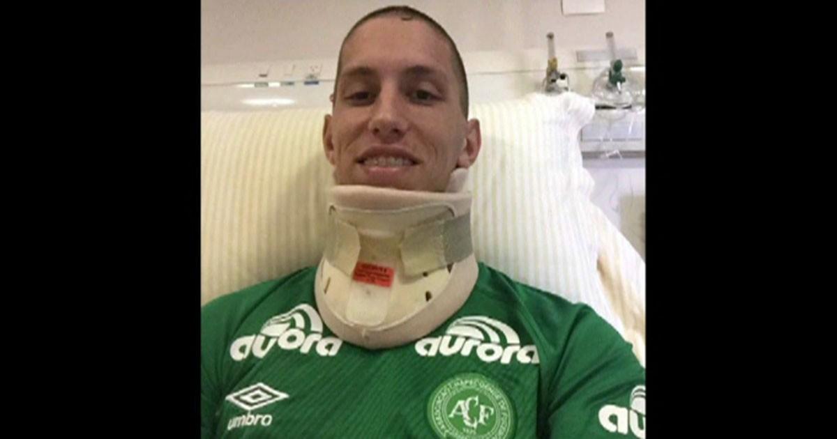 Goleiro Follmann tem previsão de alta em duas semanas, diz hospital